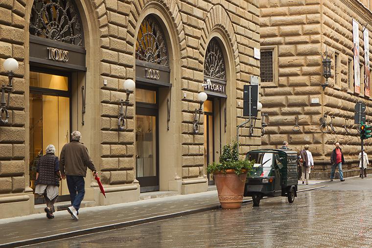 По улиците на Флоренция