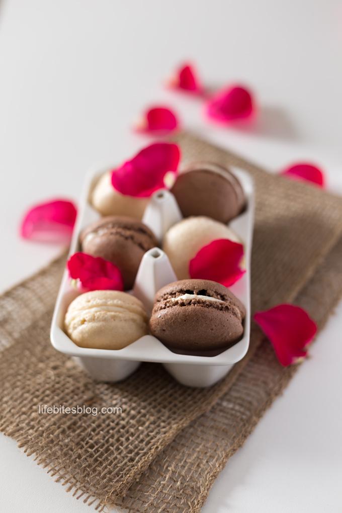 Шоколадови макарони