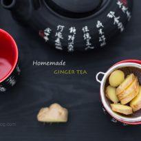 Джинджифилов чай