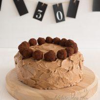 Шоколадова торта с трюфели