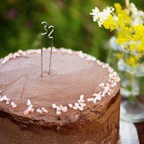 Шоколадова торта с дулче де лече и морска сол