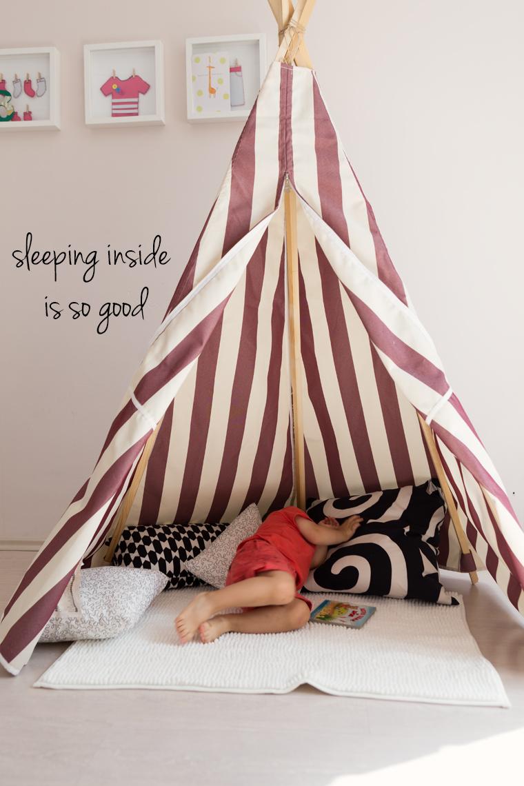 Детска палатка направи си сам