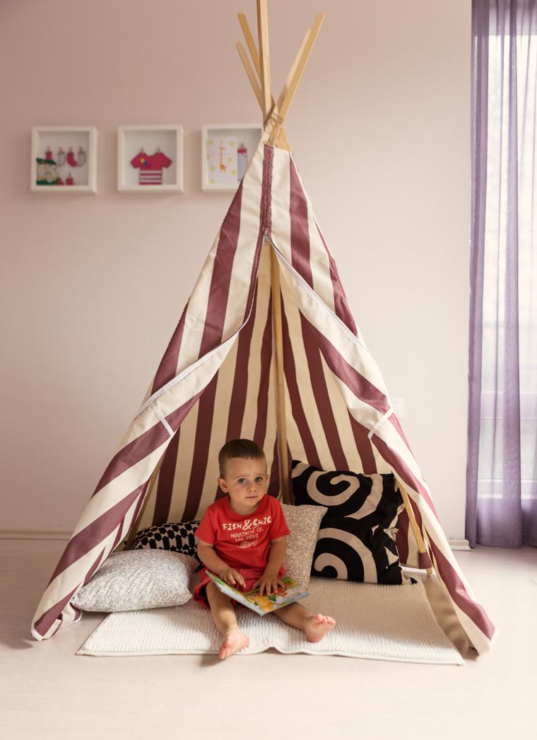 Направи си сам: Детска палатка