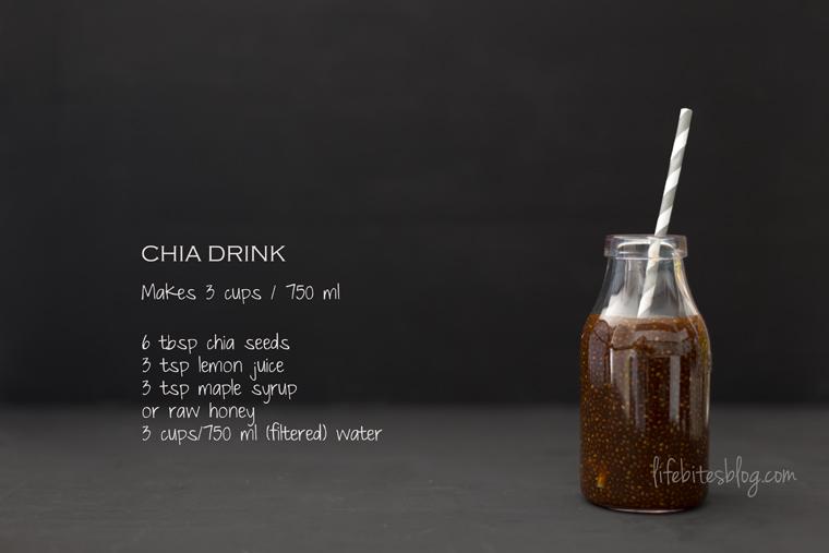 Напитка с чиа