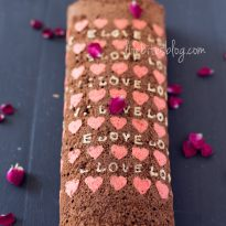 Шоколадово руло със сърца