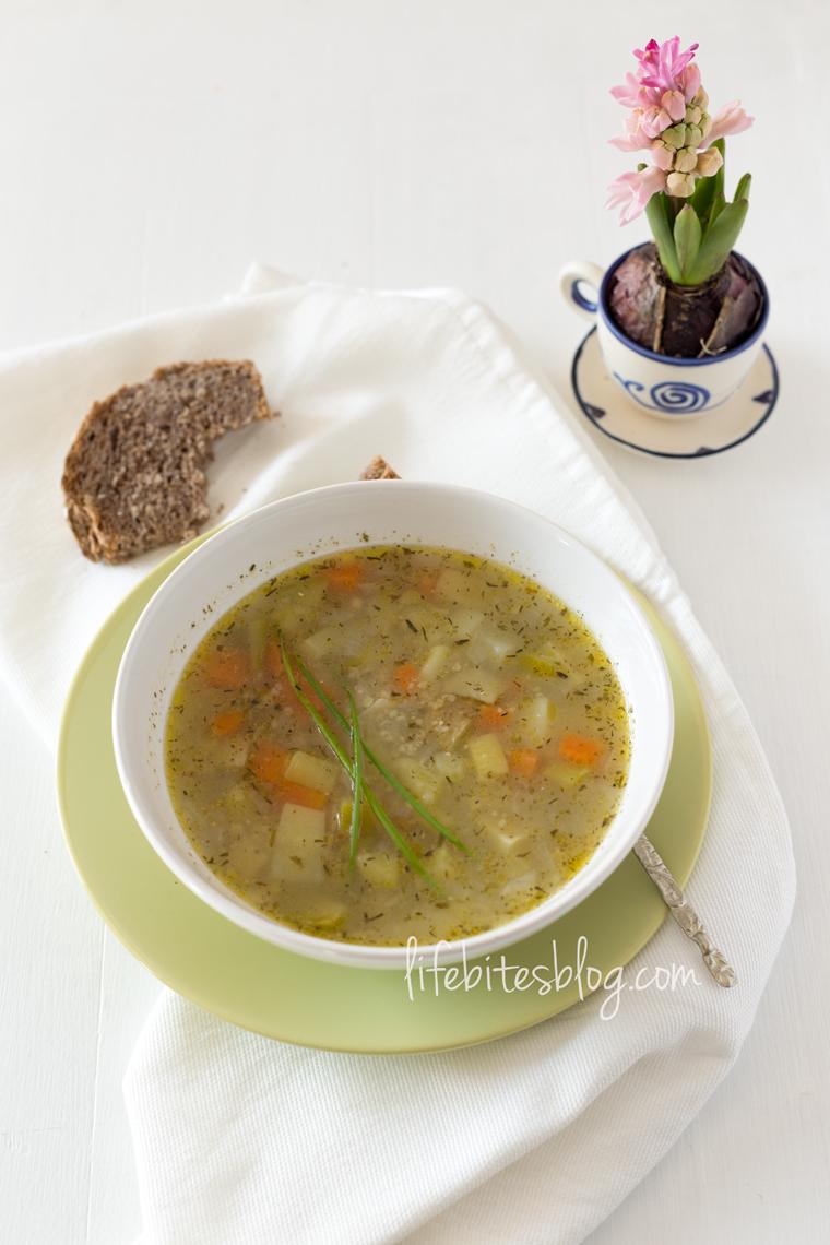 Супа подходяща за деца