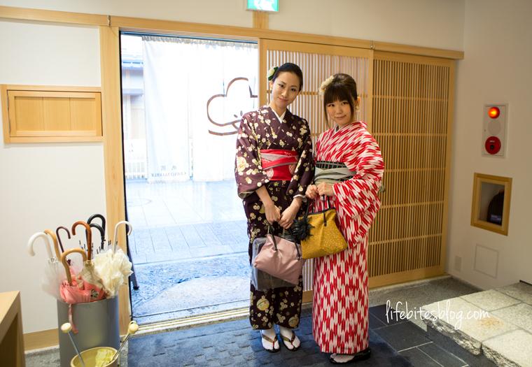 Girls in kimono