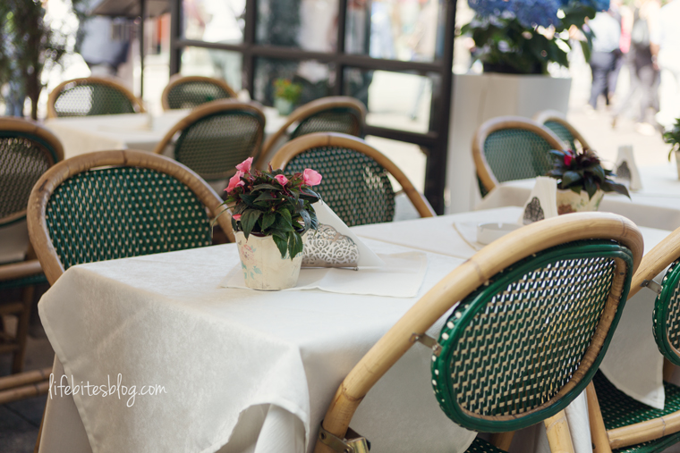 Cafe in Milan