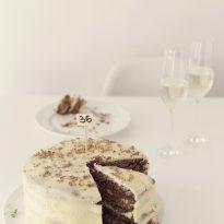 Шоколадова-кокосова торта