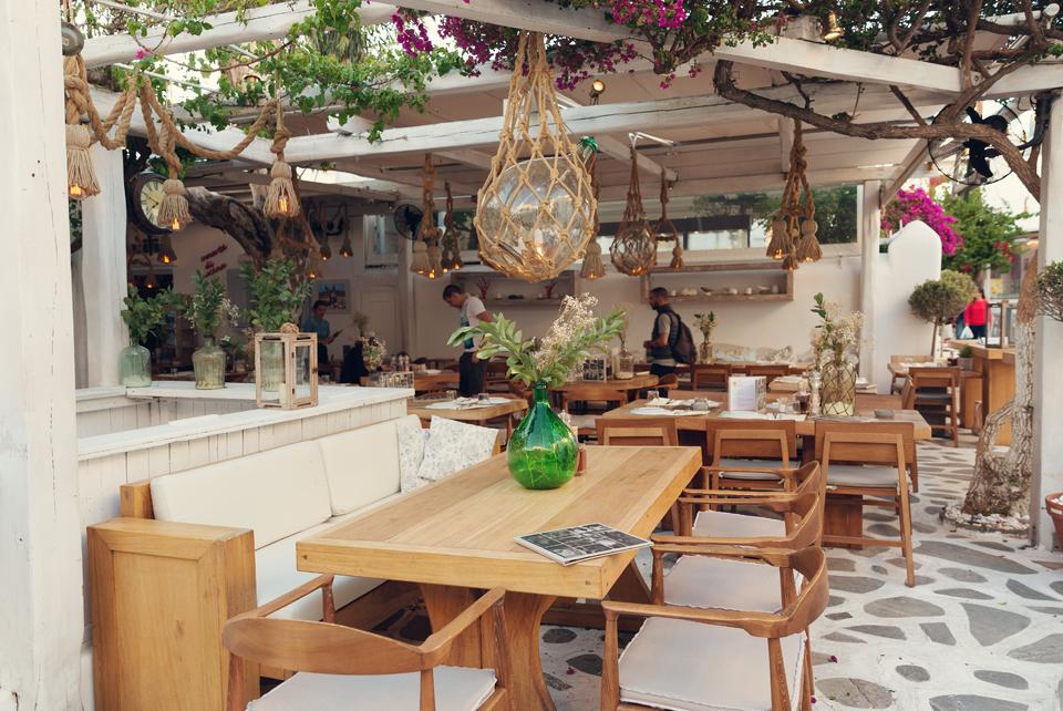 Familia restaurant in Mykonos