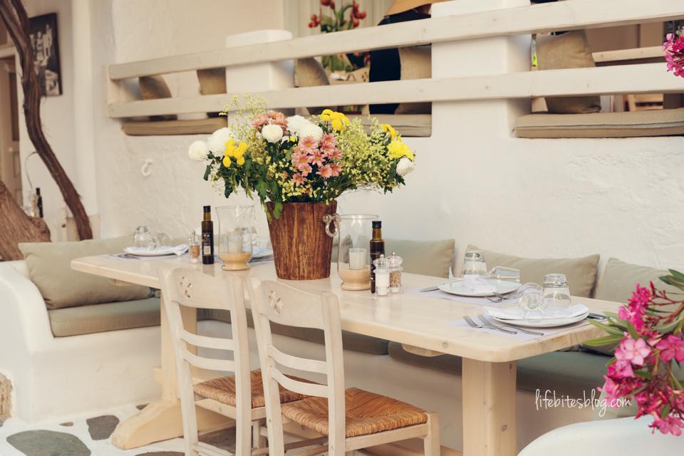 Ресторант в Миконос
