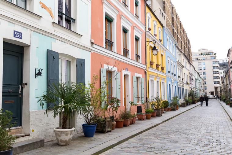 La rue Crémieux