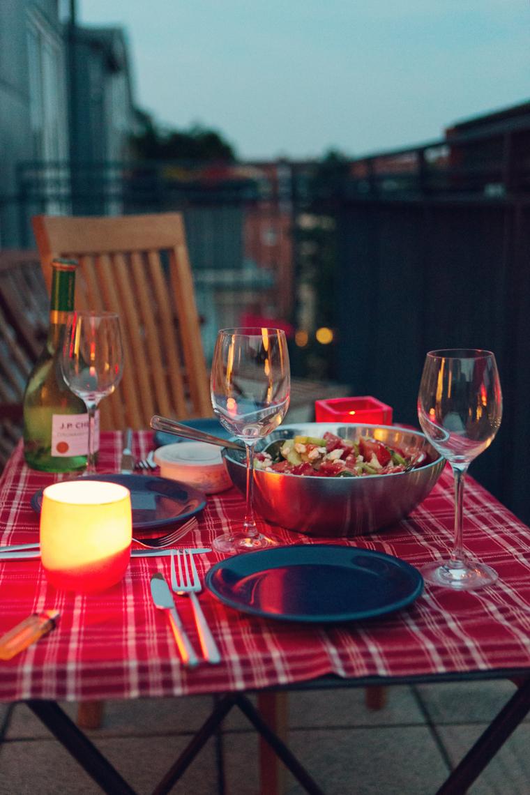 Вечер на терасата