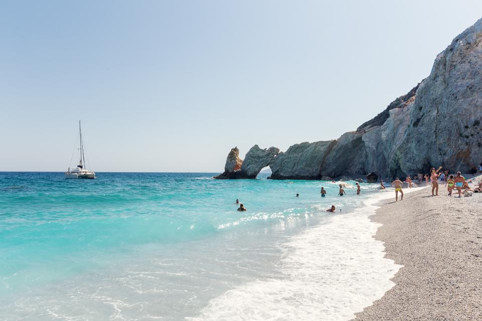 плаж на Скиатос