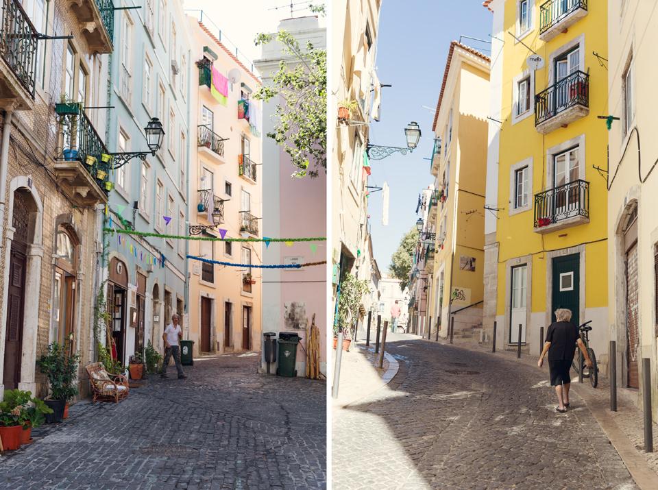 Улиците на Лисабон