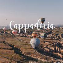 Кападокия, Турция