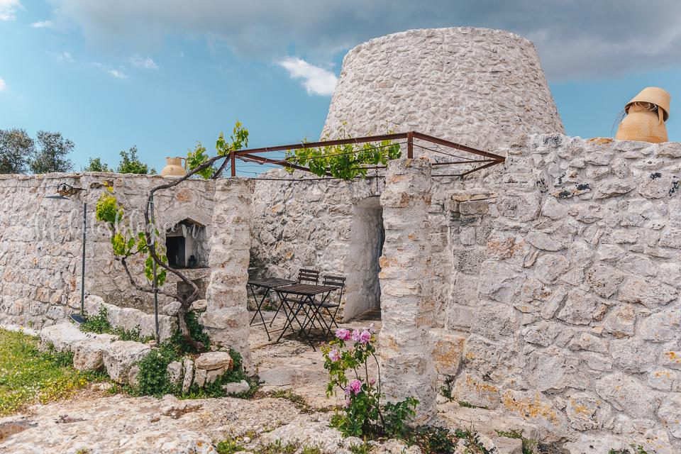 trullo house in Puglia