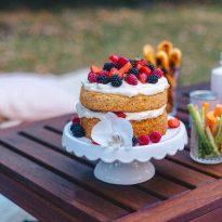 Лятна торта с плодове