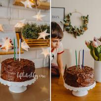 Брауни торта с шоколадов крем